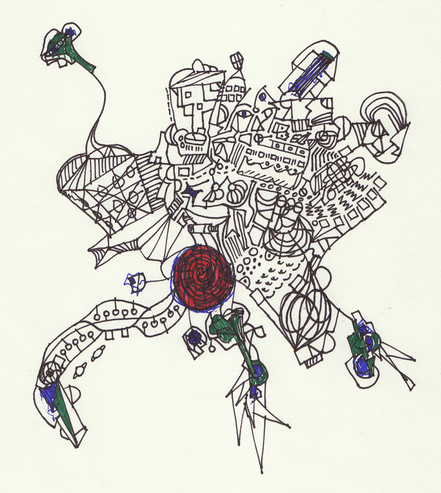 City: Ink on paper